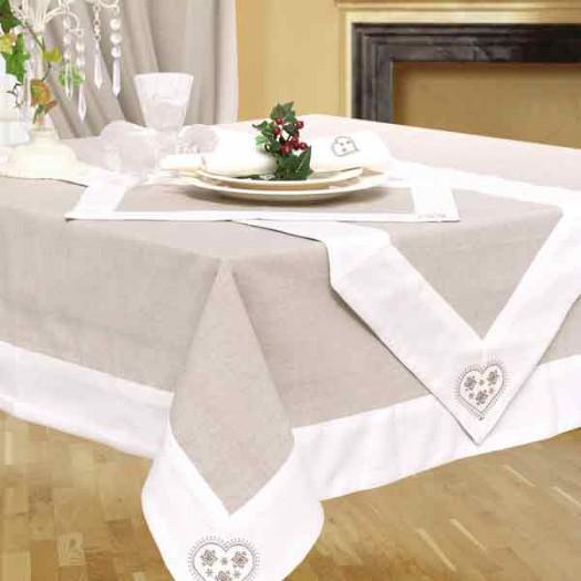 La decoration de table mariage l ment indispensable - Nappe table de salon ...